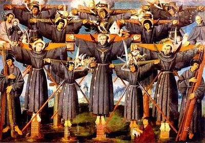 Sv. Pavel Miki in japonski mučenci (6. februar)