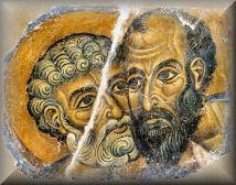 Sv. Peter in Pavel - dnevna maša (29. junij)