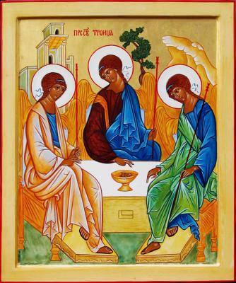 Nedelja po binkoštih: Sveta Trojica
