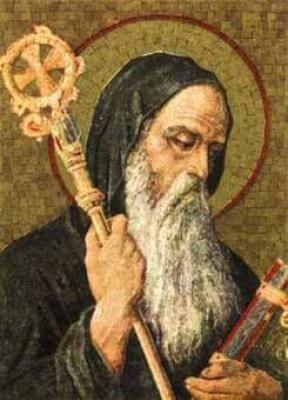 Sv. Benedikt, zavetnik Evrope (11. julij)